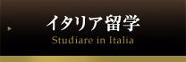 イタリア留学